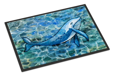 Buy this Humpback Whale Indoor or Outdoor Mat 18x27 BB5353MAT