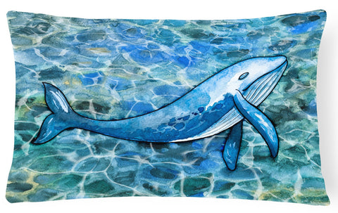Buy this Humpback Whale Canvas Fabric Decorative Pillow BB5353PW1216