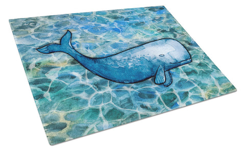 Buy this Sperm Whale Cachalot Glass Cutting Board Large BB5354LCB