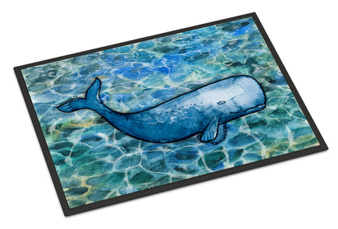 Buy this Sperm Whale Cachalot Indoor or Outdoor Mat 18x27 BB5354MAT