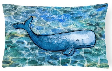 Buy this Sperm Whale Cachalot Canvas Fabric Decorative Pillow BB5354PW1216