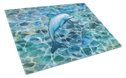 Buy this Dolphin Glass Cutting Board Large BB5356LCB