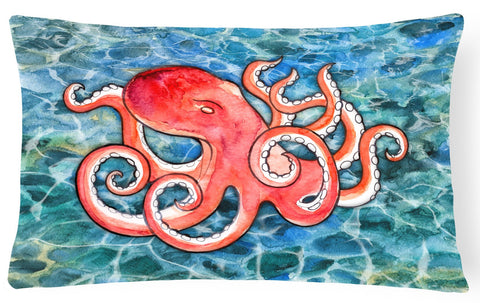 Buy this Octopus Canvas Fabric Decorative Pillow BB5357PW1216