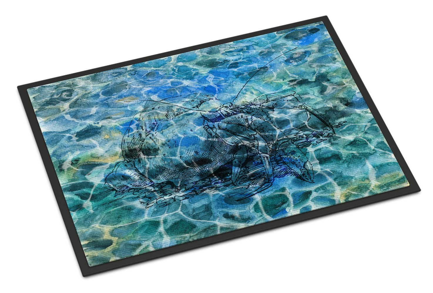 Buy this Hermit Crab Under water Indoor or Outdoor Mat 24x36 BB5361JMAT