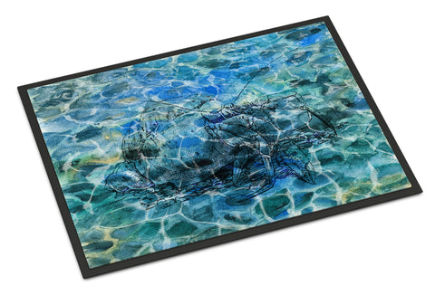 Buy this Hermit Crab Under water Indoor or Outdoor Mat 18x27 BB5361MAT