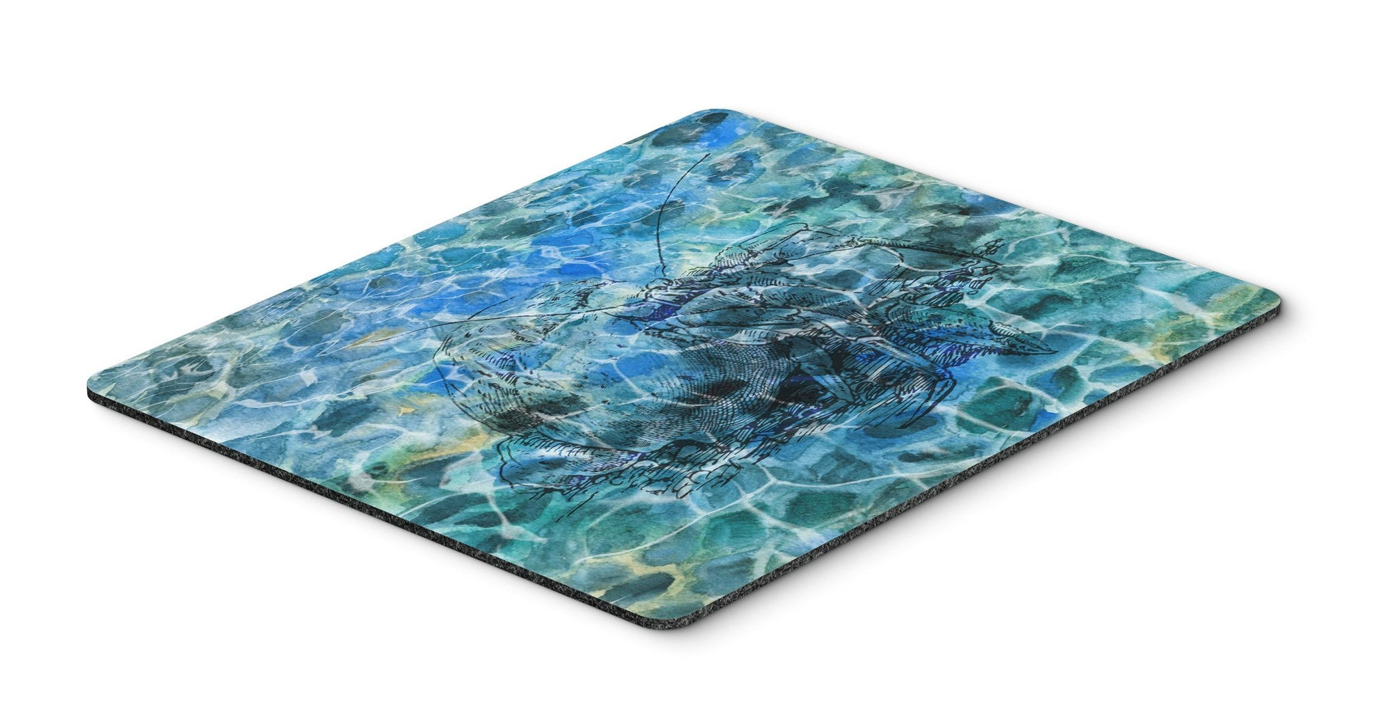 Buy this Hermit Crab Under water Mouse Pad, Hot Pad or Trivet BB5361MP