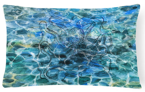Buy this Octopus Under water Canvas Fabric Decorative Pillow BB5362PW1216