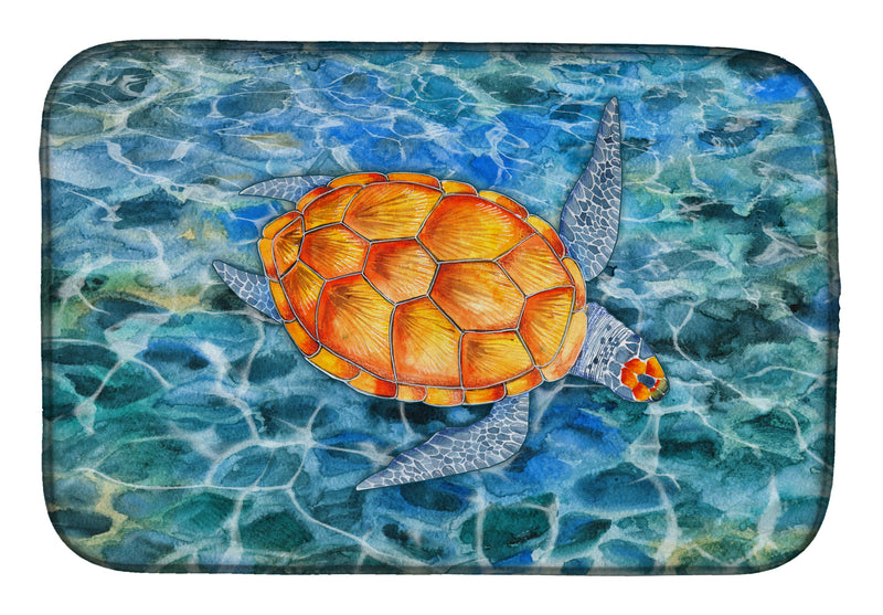 Buy this Sea Turtle Dish Drying Mat BB5364DDM