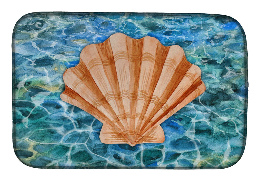Buy this Scallop Shell and Water Dish Drying Mat BB5367DDM