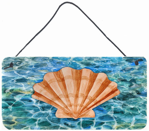 Buy this Scallop Shell and Water Wall or Door Hanging Prints BB5367DS812