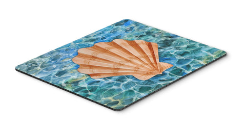 Buy this Scallop Shell and Water Mouse Pad, Hot Pad or Trivet BB5367MP