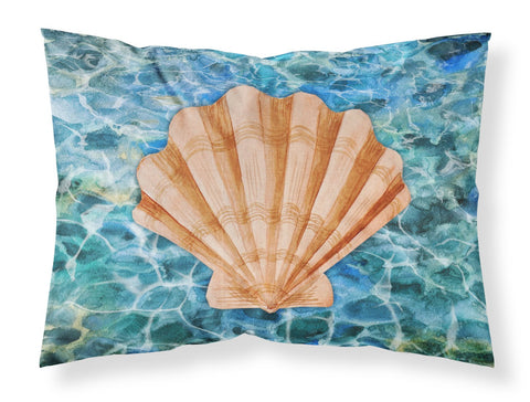 Buy this Scallop Shell and Water Fabric Standard Pillowcase BB5367PILLOWCASE