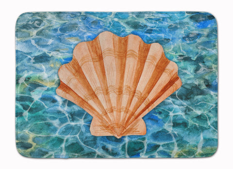 Buy this Scallop Shell and Water Machine Washable Memory Foam Mat BB5367RUG