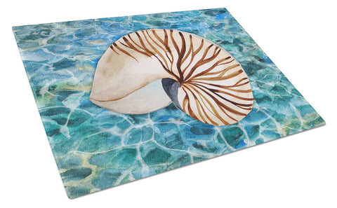 Buy this Sea Shell and Water Glass Cutting Board Large BB5368LCB