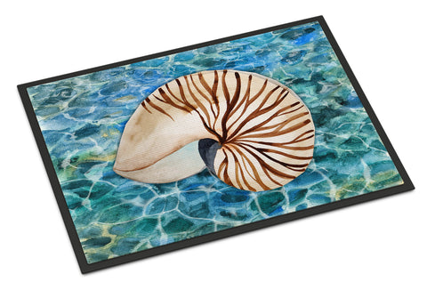 Buy this Sea Shell and Water Indoor or Outdoor Mat 18x27 BB5368MAT