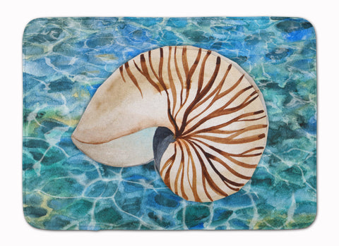 Buy this Sea Shell and Water Machine Washable Memory Foam Mat BB5368RUG