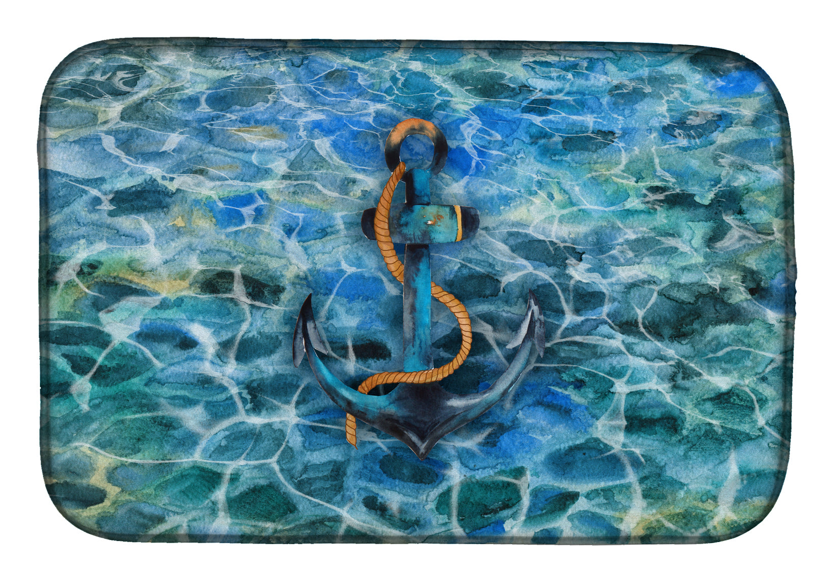 Buy this Anchor and Rope Dish Drying Mat BB5370DDM