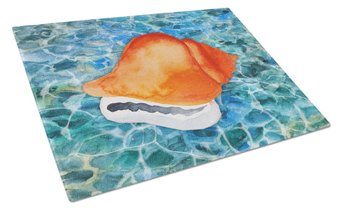 Buy this Sea Shell Glass Cutting Board Large BB5371LCB