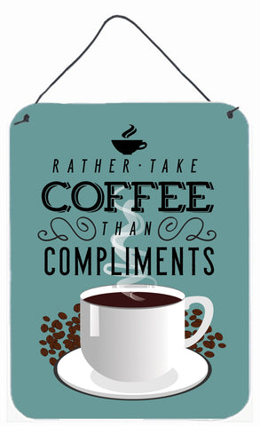 Buy this Rather have Coffee Sign Wall or Door Hanging Prints BB5402DS1216