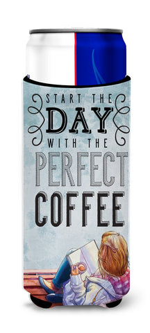 Buy this Start the Day Coffee Sign Michelob Ultra Hugger for slim cans BB5404MUK