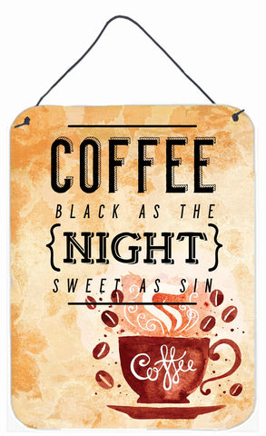 Buy this Black Coffee Sign Wall or Door Hanging Prints BB5405DS1216