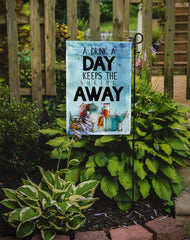 A Drink a Day Sign Flag Garden Size BB5410GF