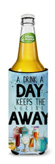 A Drink a Day Sign Michelob Ultra Hugger for slim cans BB5410MUK