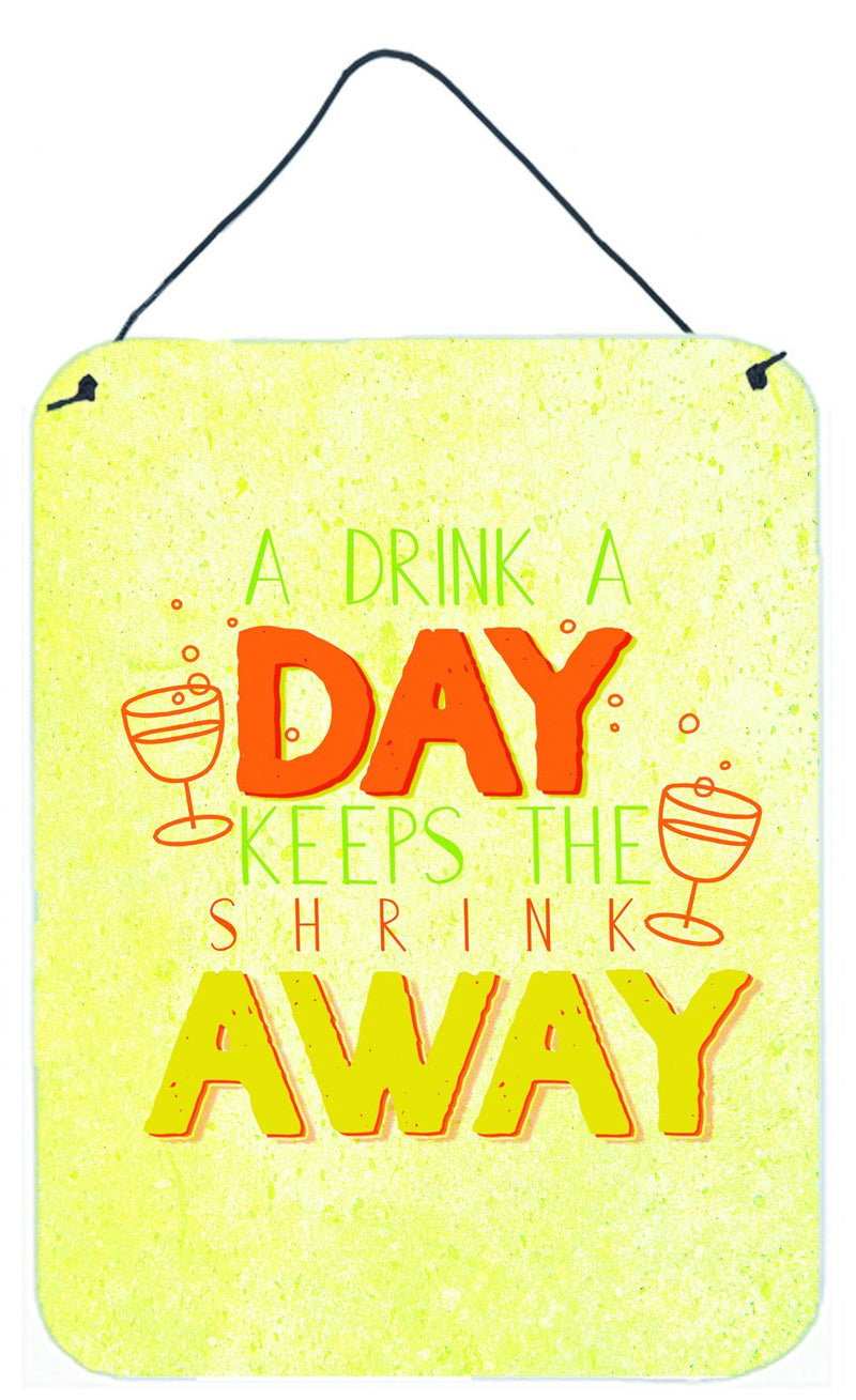 Buy this A Drink a Day Wall or Door Hanging Prints BB5422DS1216