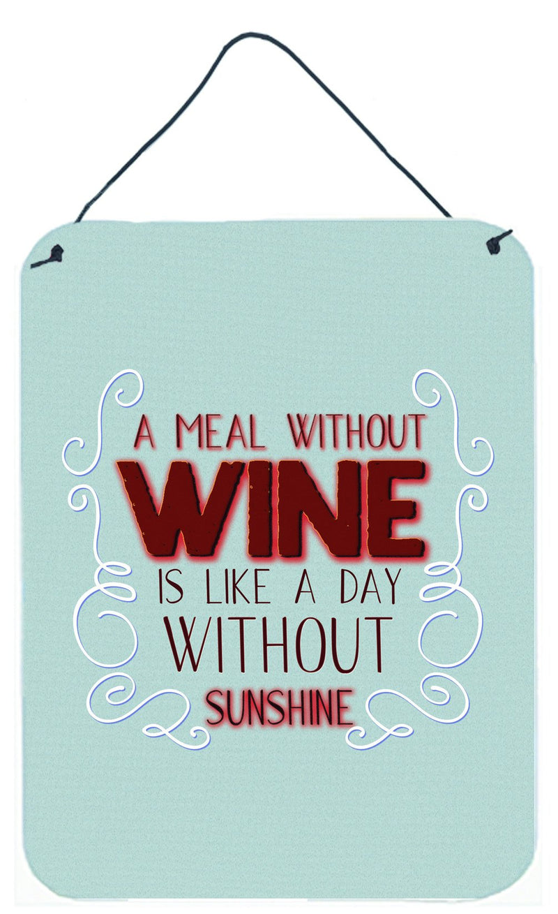 Buy this A Meal Without Wine Wall or Door Hanging Prints BB5424DS1216
