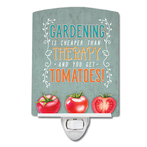 Buy this Gardening Therapy and Tomatoes Ceramic Night Light BB5432CNL