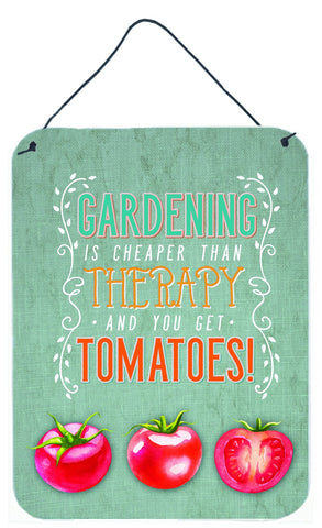 Buy this Gardening Therapy and Tomatoes Wall or Door Hanging Prints BB5432DS1216