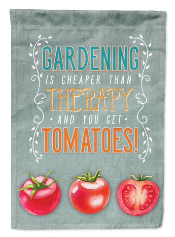 Buy this Gardening Therapy and Tomatoes Flag Garden Size BB5432GF
