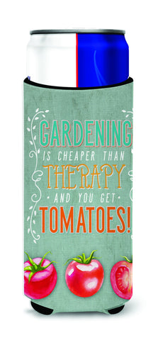 Buy this Gardening Therapy and Tomatoes Michelob Ultra Hugger for slim cans BB5432MUK