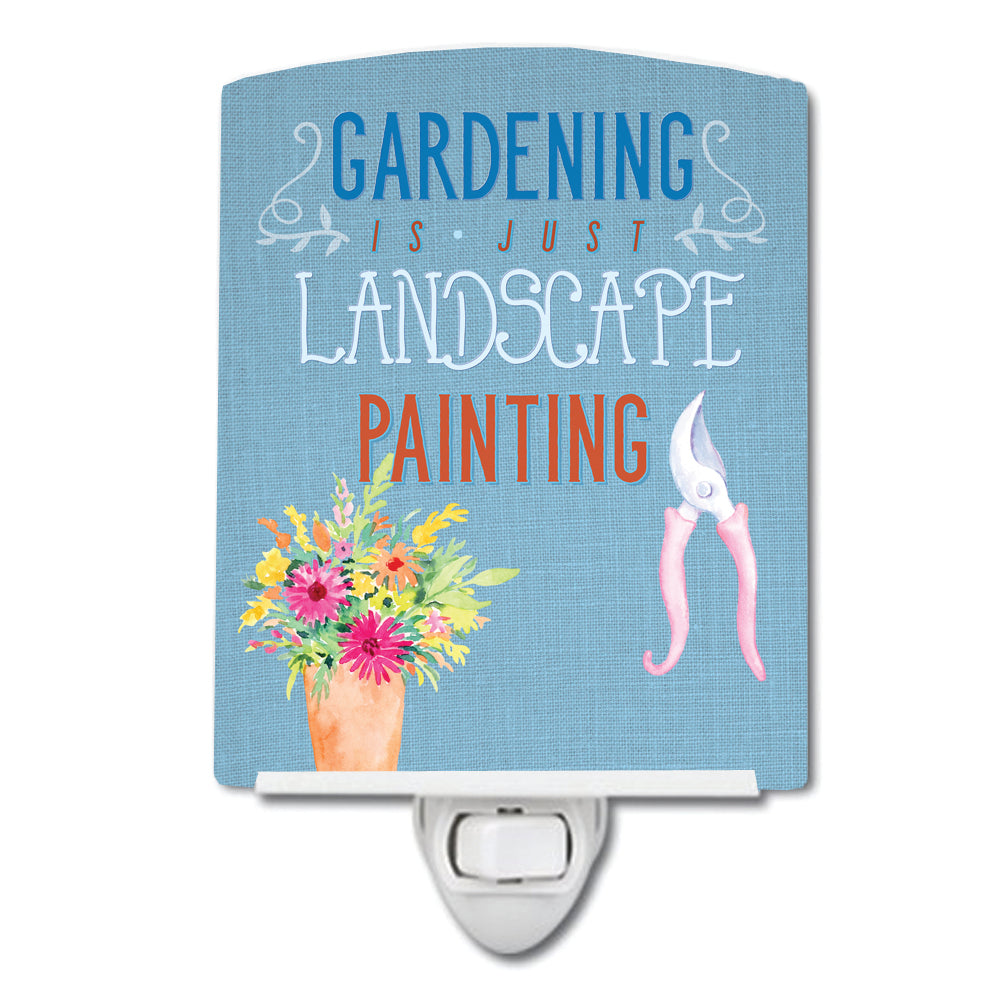 Buy this Gardening is Landscape Painting Ceramic Night Light BB5434CNL