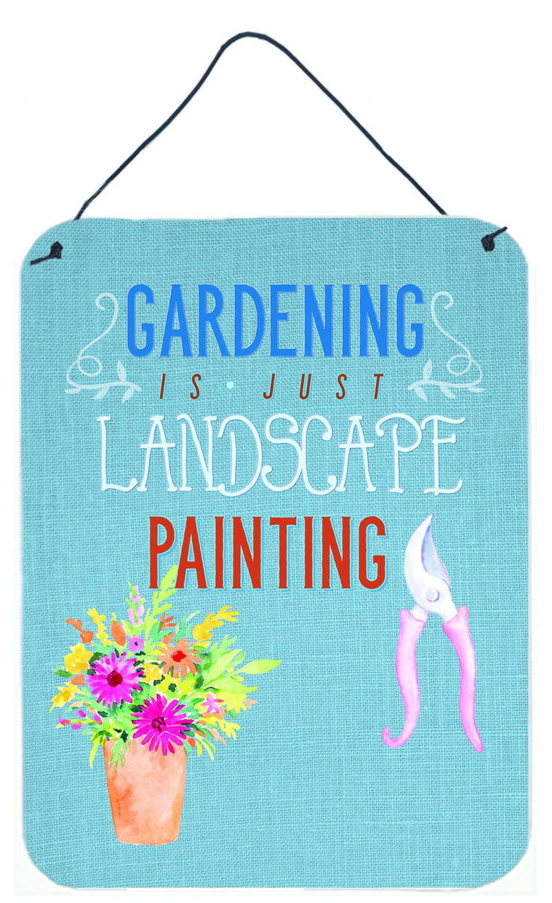 Buy this Gardening is Landscape Painting Wall or Door Hanging Prints BB5434DS1216