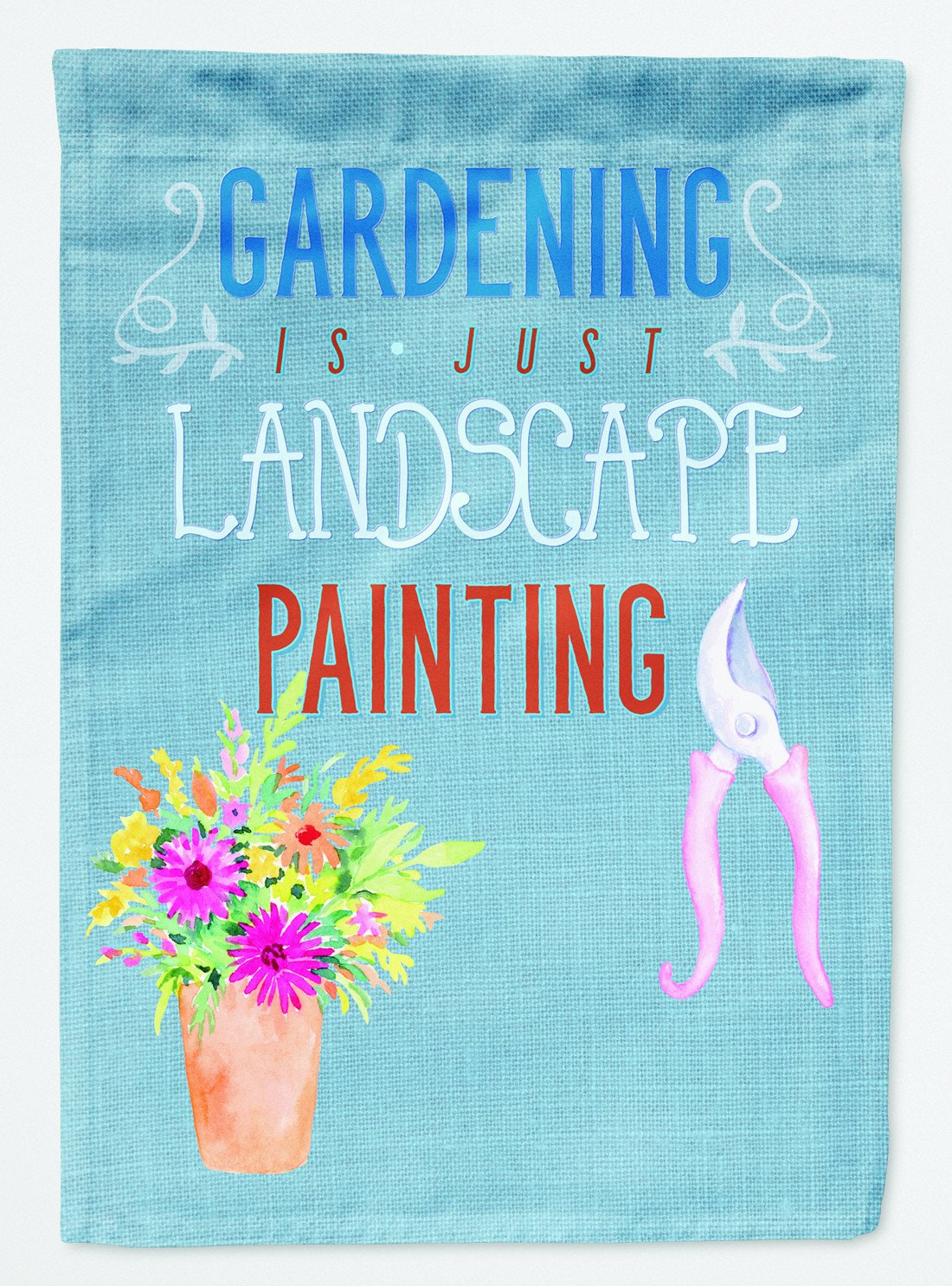 Buy this Gardening is Landscape Painting Flag Garden Size BB5434GF
