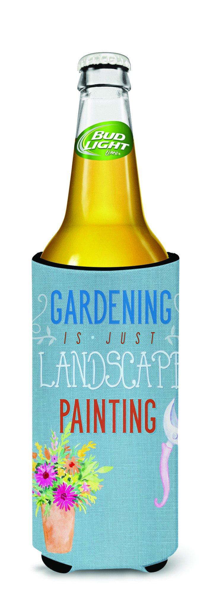 Buy this Gardening is Landscape Painting Michelob Ultra Hugger for slim cans BB5434MUK