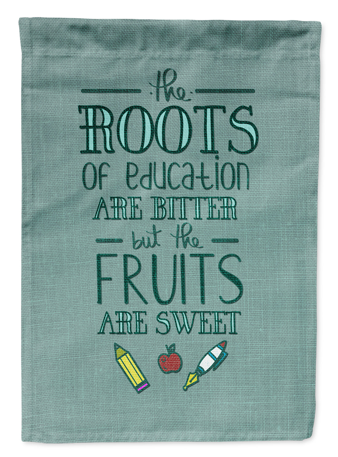 Buy this Education Fruits are Sweet Teacher Flag Garden Size BB5474GF