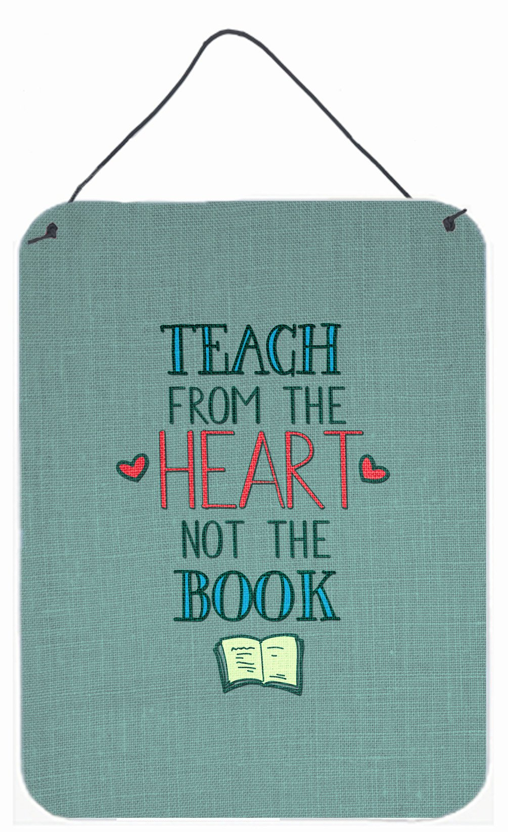 Buy this Teach from the Heart Teacher Wall or Door Hanging Prints BB5476DS1216