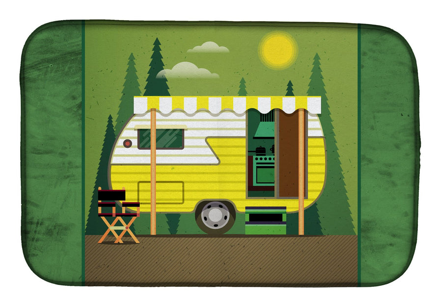 Buy this Greatest Adventure Retro Camper Dish Drying Mat BB5478DDM