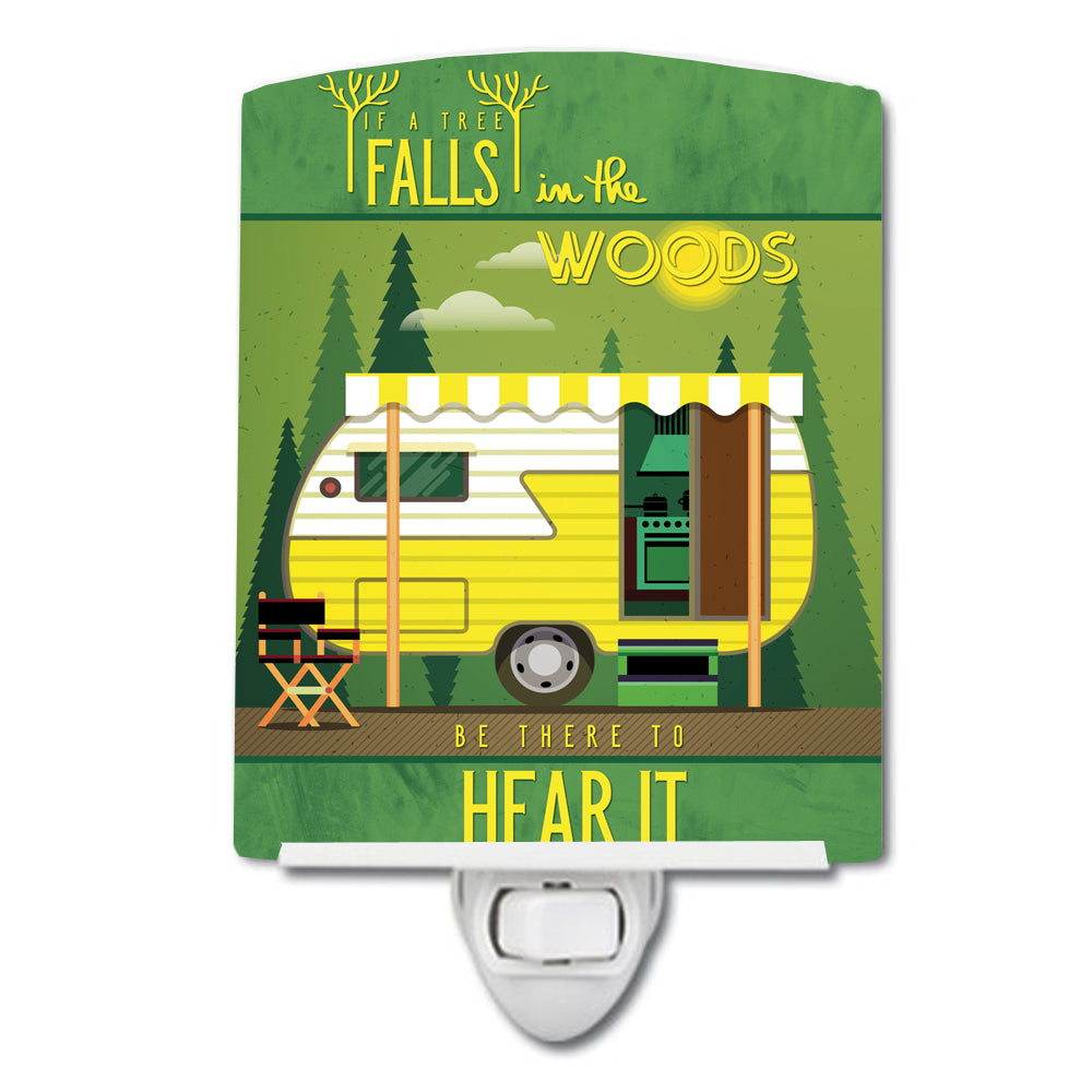 Buy this Be in the Woods Retro Camper Ceramic Night Light BB5482CNL