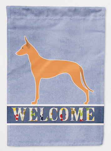 Buy this Pharaoh Hound Welcome Flag Garden Size BB5492GF