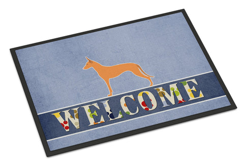 Buy this Pharaoh Hound Welcome Indoor or Outdoor Mat 24x36 BB5492JMAT