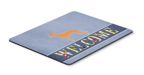Buy this Pharaoh Hound Welcome Mouse Pad, Hot Pad or Trivet BB5492MP
