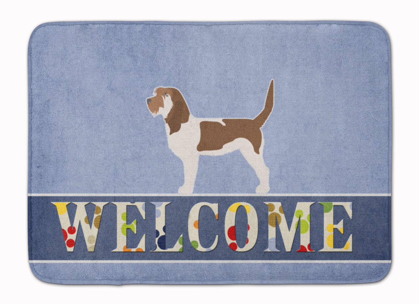 Grand Basset Griffon Vendeen Welcome Machine Washable Memory Foam Mat BB5494RUG by Caroline's Treasures