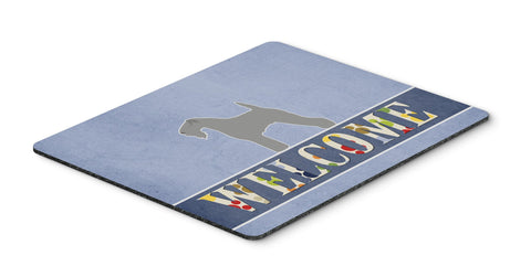 Buy this Kerry Blue Terrier Welcome Mouse Pad, Hot Pad or Trivet BB5496MP