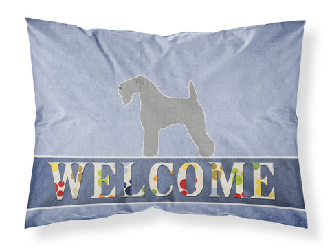 Buy this Kerry Blue Terrier Welcome Fabric Standard Pillowcase BB5496PILLOWCASE