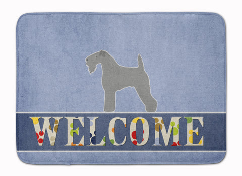 Buy this Kerry Blue Terrier Welcome Machine Washable Memory Foam Mat BB5496RUG