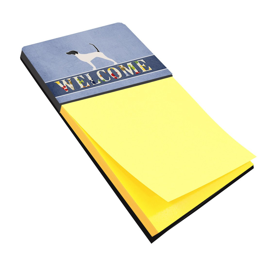 English Pointer Welcome Sticky Note Holder BB5499SN by Caroline's Treasures