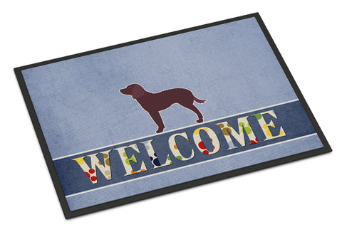 Buy this American Water Spaniel Welcome Indoor or Outdoor Mat 18x27 BB5505MAT
